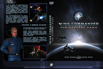 Wing Commander Saga: The Darkest Dawn - DVD Cover